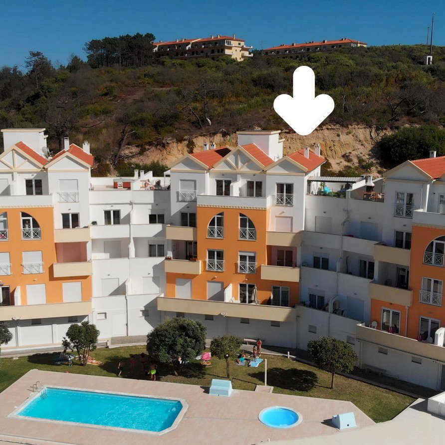 Beach apartment SolMar_Holiday Portugal front view