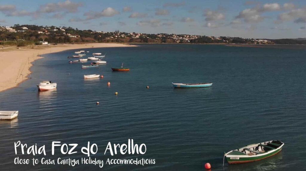 Stranden van Foz do Arelho