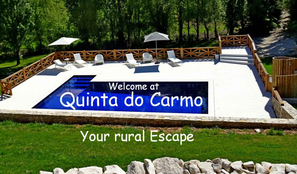 Quinta do Carmo - rural escape for beach  holiday in Portugal
