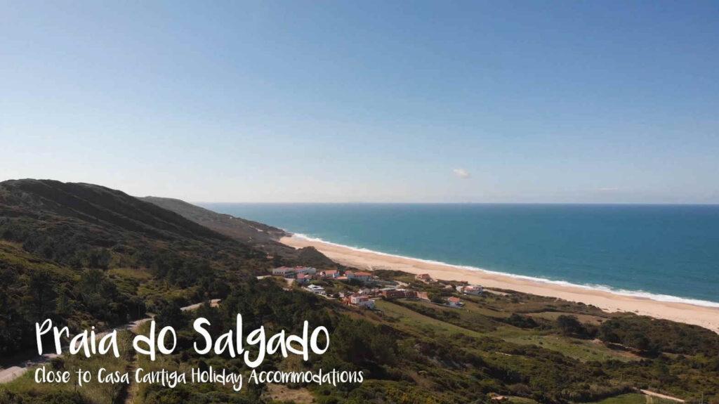 (nudisten) strand van Salgado