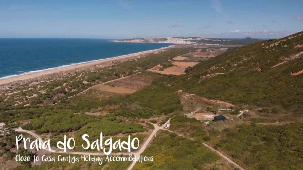 (nudisten) strand van Salgado zilverkust portugal