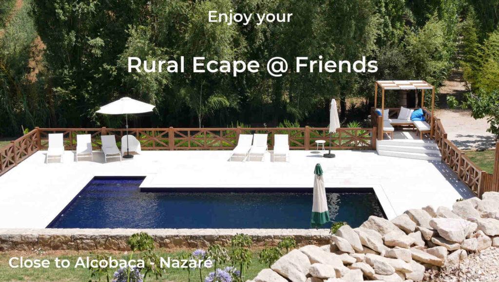 Rural escape Portugal Nazare
